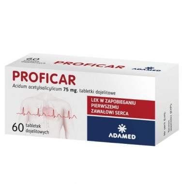 Proficar 75 mg 60 tabl.