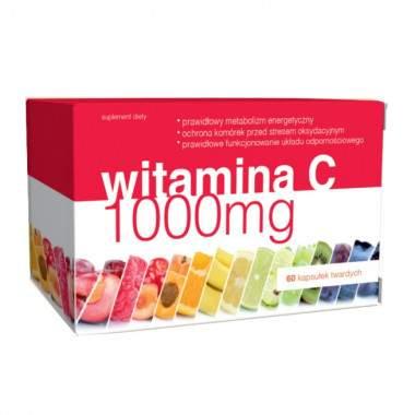 Witamina C 1000 mg 60 kaps. Natureupp