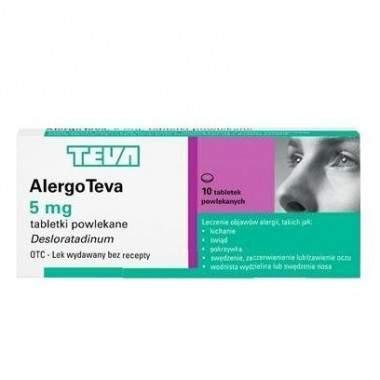 AlergoTeva (Flynise) 5 mg 10 tabl.