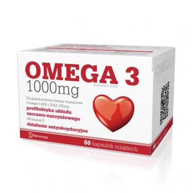Omega 3 1000 mg 60 kaps. Natureupp
