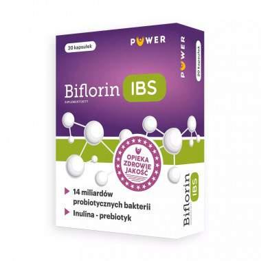 Biflorin IBS 20 kaps.